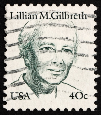 Postage stamp USA 1983 Lillian M. Gilbreth
