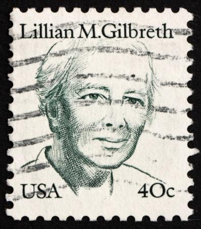 Postage stamp USA 1983 Lillian M. Gilbreth
